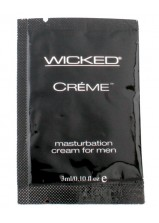 Wicked Creme Masturbation Sachet 3ml