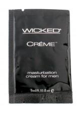 Wicked Creme Masturbation Sachet 3ml