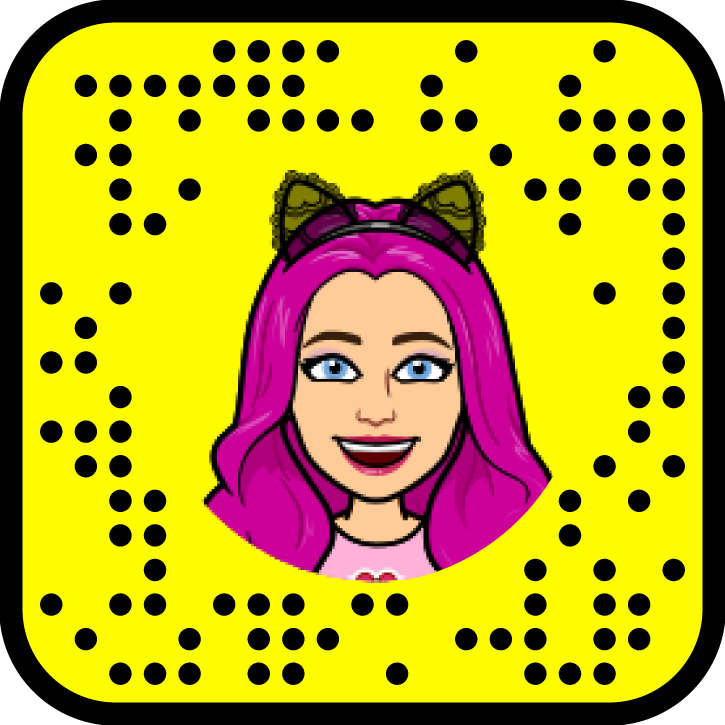 preaches and cream snapcode